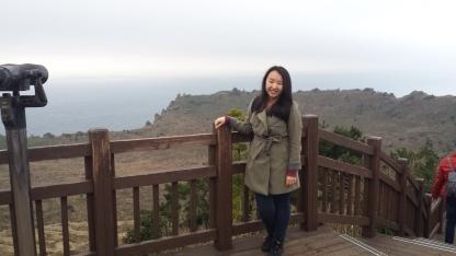 At the top of Sunrise Peak.
